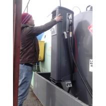 Configurare retea alimentare rezervoare si pompe combustibil