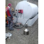 Montaj pompa mecanica de rezervor suprateran de 9000Litri