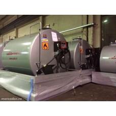Rezervor motorina 7000 litri + pompa automatizata cu contor mecanic Piusi K33