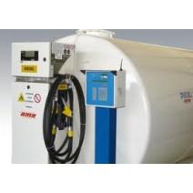 Statie distributie carburant capacitate 20000Litri cu autorizatii si pompa comerciala pentru fiscalizat Tokheim