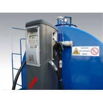 Rezervor combustibil 9000 litri cu pompa Piusi FM 70