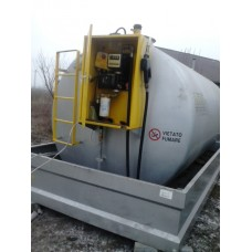 Statie carburanti de interior cu cuva de retentie capacitate 9000 litri
